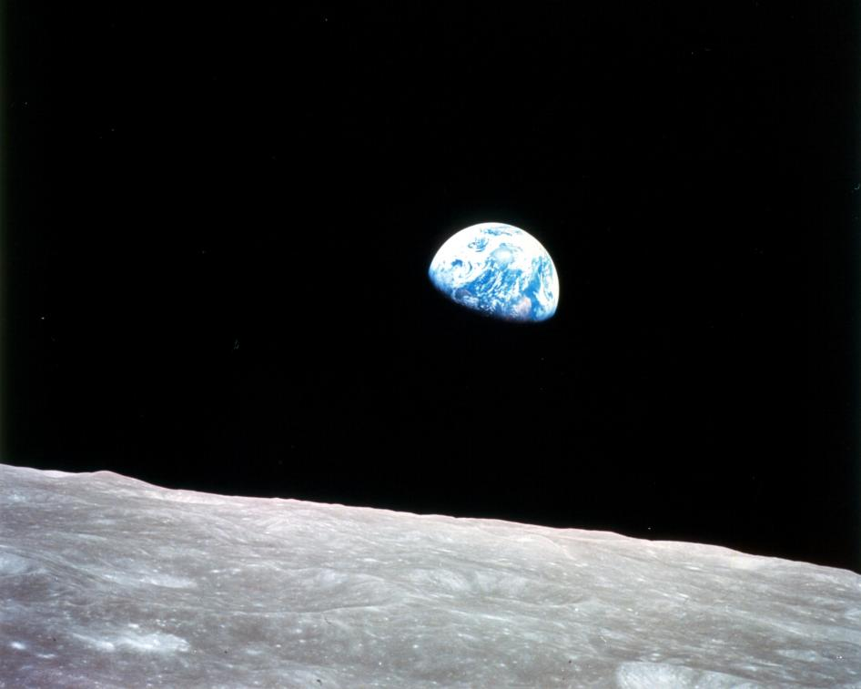 Earthrise photo by William A. Anders